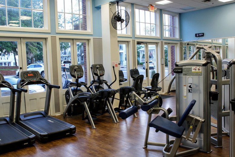 Full ensemble of Cybex equipment. Orientation free with any membership!