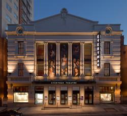 Everyman Theater Restored Historic Facade