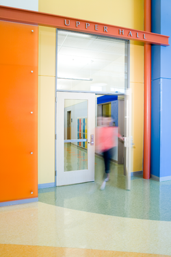 Forbush School Upper Classroom Wing Gateway