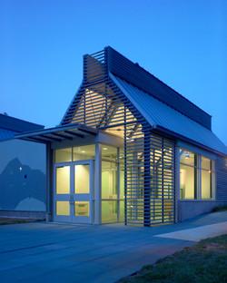 Exhibit Building Entrance