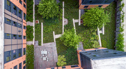 Exterior Courtyard From Above