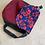 Thumbnail: Flap Front Shoulder Bag | Poppies (velvet)