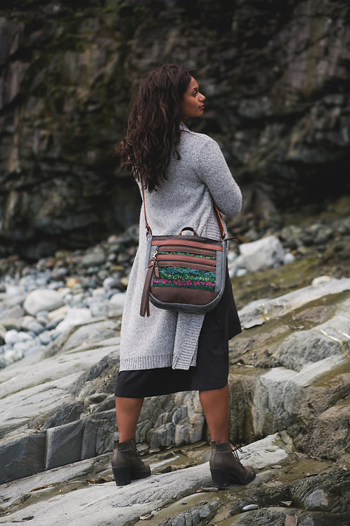 The Nomad Crossbody | Bewilder Berries (velvet)