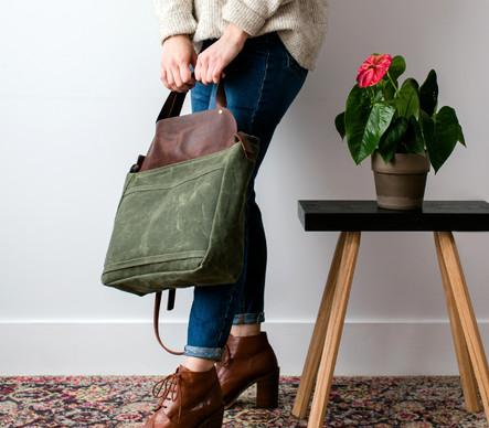 Studio Bag // Green Crush