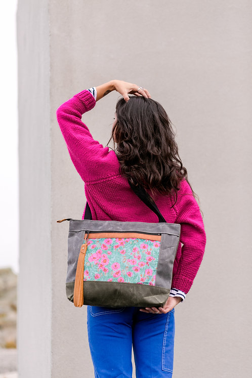 Flagship Tote | Pink Poppies