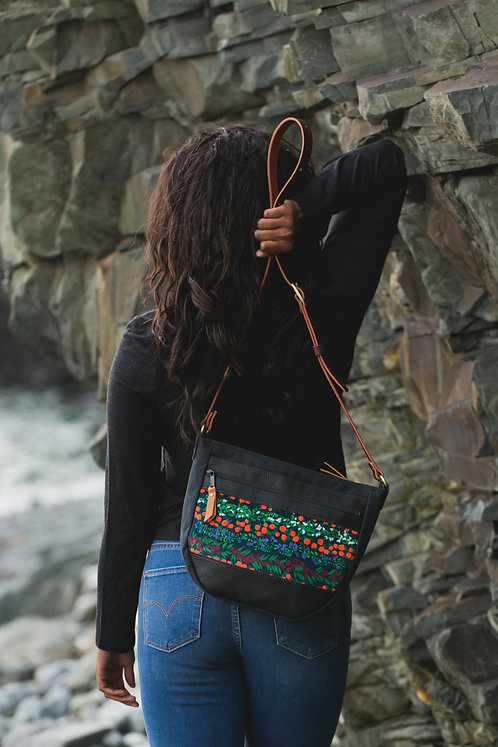 Day Bag Rugged | Berries (velvet)