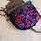 Thumbnail: Molly Bag | Poppies (velvet)