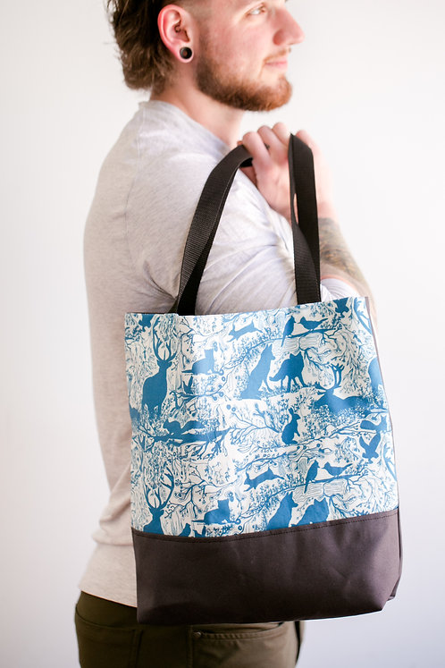 Market Tote | Enchanted Forest