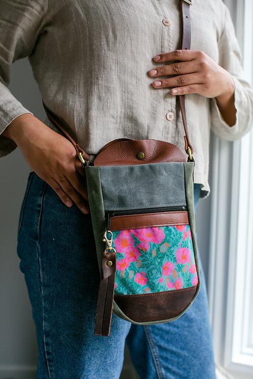 Bottle Bag | Pink Poppy