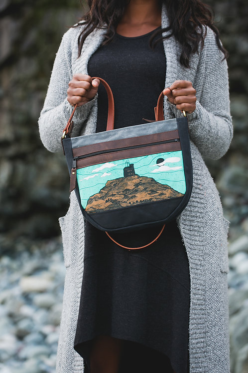 Day Bag Rugged | Turquoise Signal Hill (velvet)