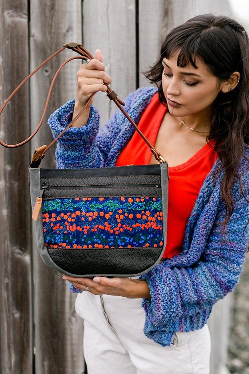 Day Bag | Berries (velvet)