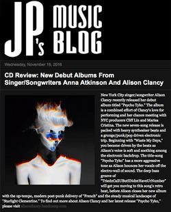 JP's Music Blog Feature