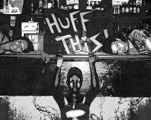 HUFF THIS! at Knitting Factory photo Wesley Roundtree