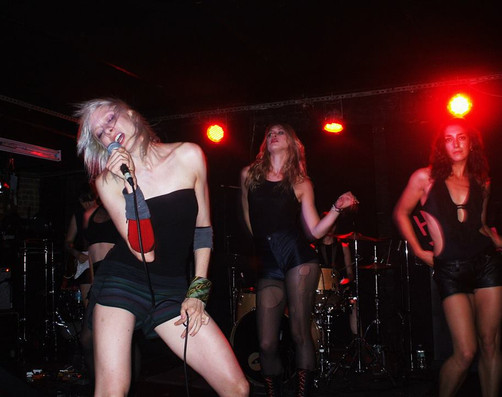 HUFF THIS! at Mercury Lounge: Alison Clancy, Mollie Downes, Kyla Ernst-Alper