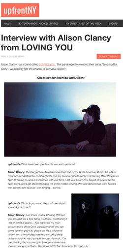 INTERVIEW with upfrontNY
