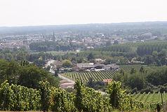 Point de vue depuis le Château La Prioulette