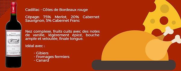 Cadillac Côtes de Bordeaux