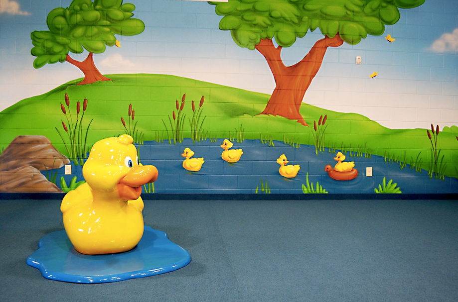 nursery props and murals