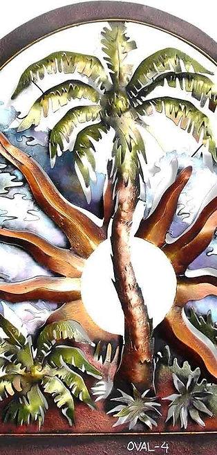 OVAL PALM TREE