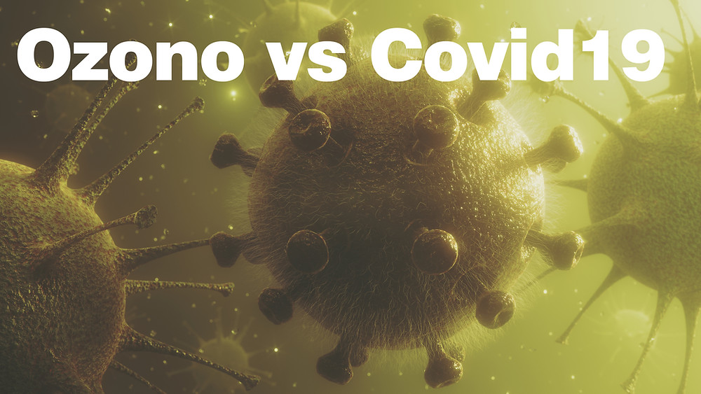 Ozono contra coronavirus