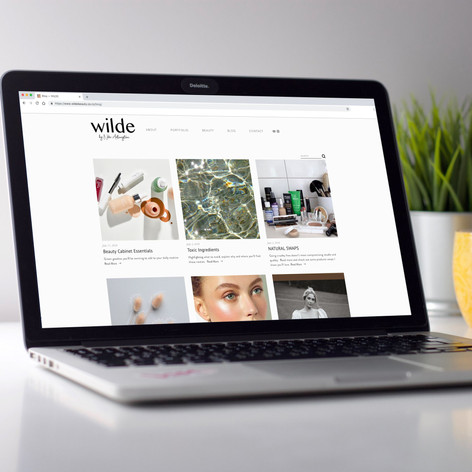 Wilde Beauty Logo Design