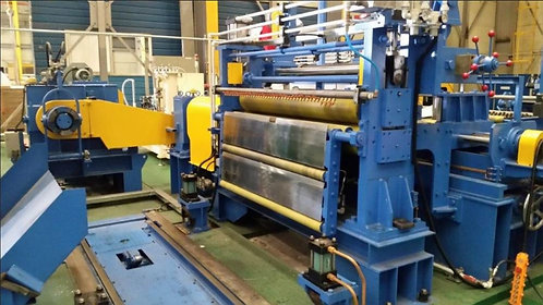 Used Aluminum & Steel Slitter Line + Spare STAND + Cleaning Equipment
