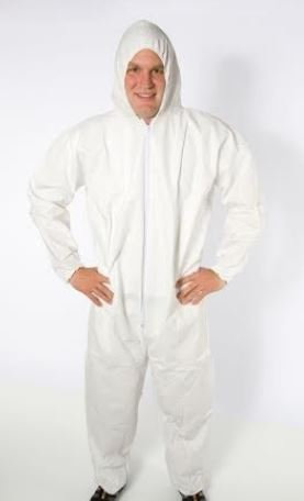 Coverall Industrial Elastic
