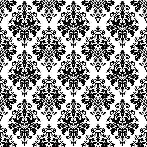 Керамическая плитка Colibri Nero Dec.D7 12,5 × 12,5 см