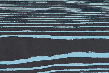 Керамогранит Black Negative Azzurro 20*120 см