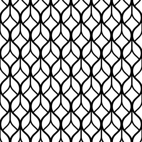 Керамическая плитка Colibri Nero Dec.E7 12,5 × 12,5 см