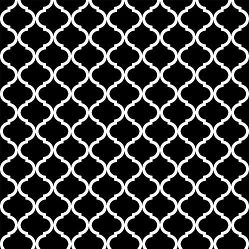 Керамическая плитка Colibri Nero Dec.B5 12,5 × 12,5 см