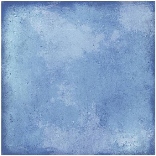 Керамогранит Maiolica plain blue 20 × 20 см