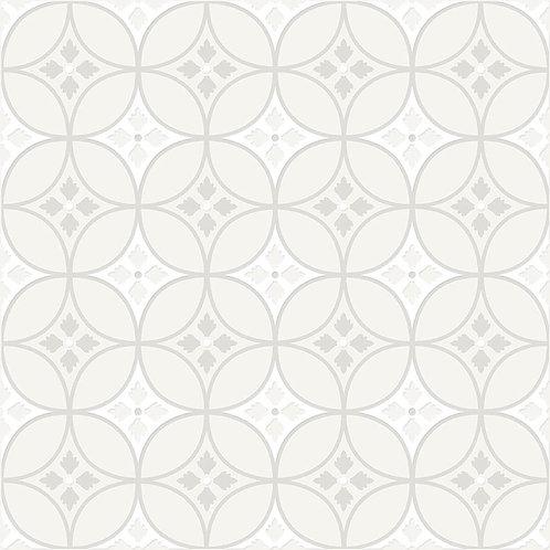 Керамогранит City Glamour White On White Base #04 60 х 60 см