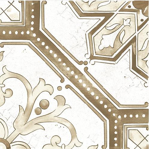 Керамогранит Maiolica Brown pattern #2 60 × 60 см