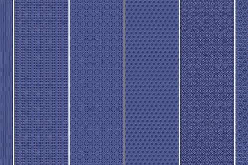 Керамогранит Vibration Dark Blue (6 patterns) 10 х 30 см