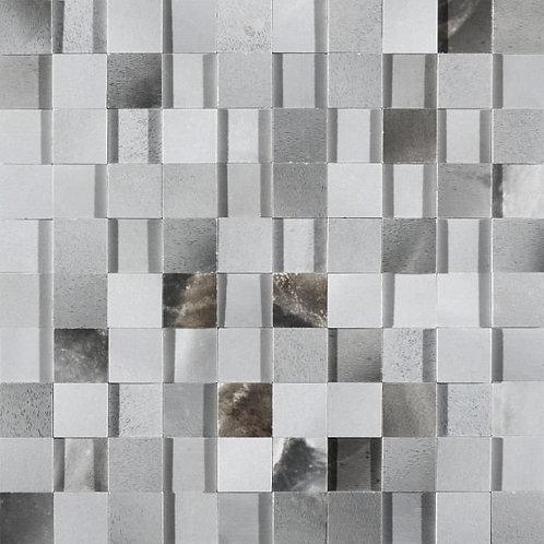 Керамогранит Alabastri Mosaico 3d Zaffiro Glossy 30*30 см