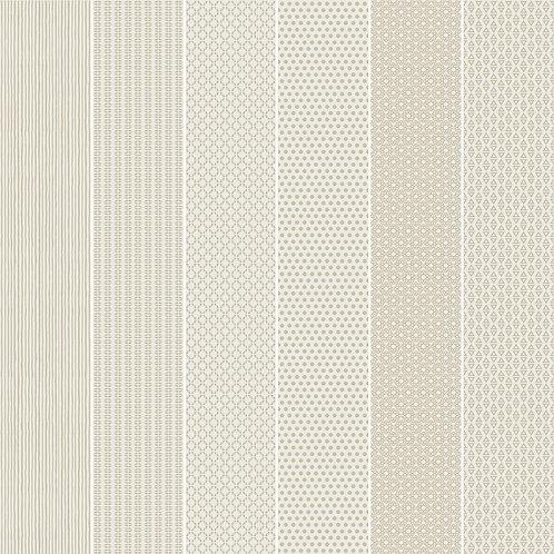 Керамогранит Vibration Beige (6 patterns) 10 х 60 см