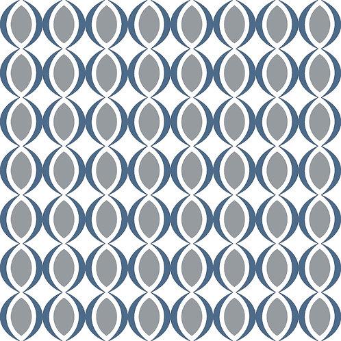 Керамическая плитка Colibri Blu Dec.E6 12,5 × 12,5 см