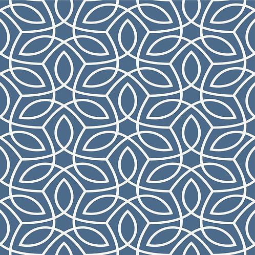 Керамическая плитка Colibri Blu Dec.A2 12,5 × 12,5 см