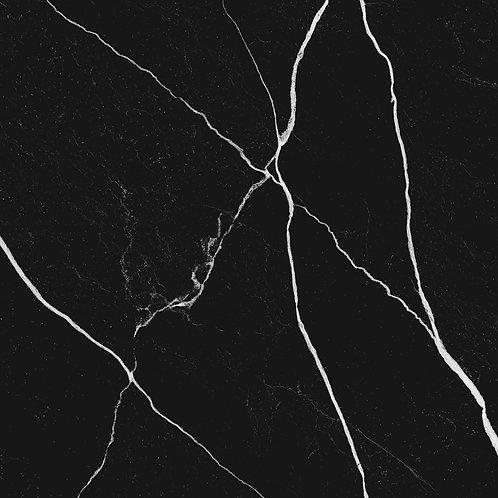 Керамогранит Mate Marmo Nero 60 × 60 см