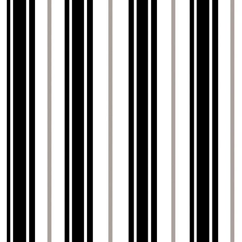 Керамическая плитка Colibri Nero Dec.A1 12,5 × 12,5 см