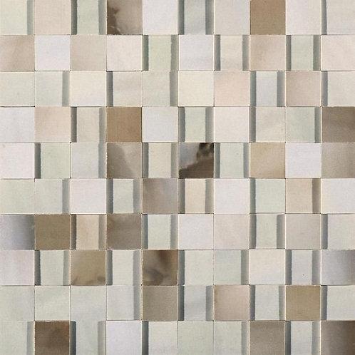 Керамогранит Alabastri Mosaico 3d Bamboo Glossy 30*30 см