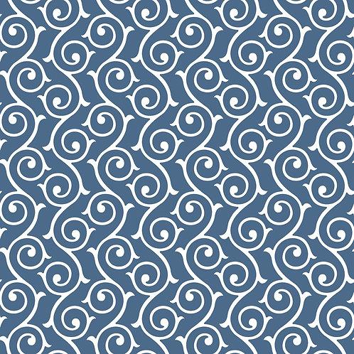 Керамическая плитка Colibri Blu Dec.E3 12,5 × 12,5 см