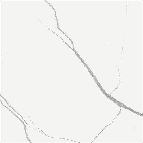 Керамогранит Mate Marmo Bianco 60 × 60 см