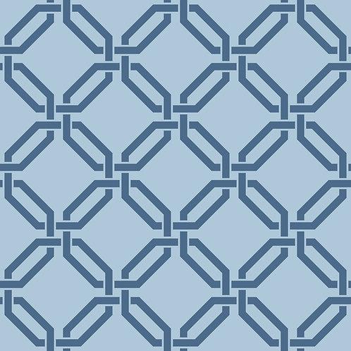 Керамическая плитка Colibri Blu Dec.B7 12,5 × 12,5 см