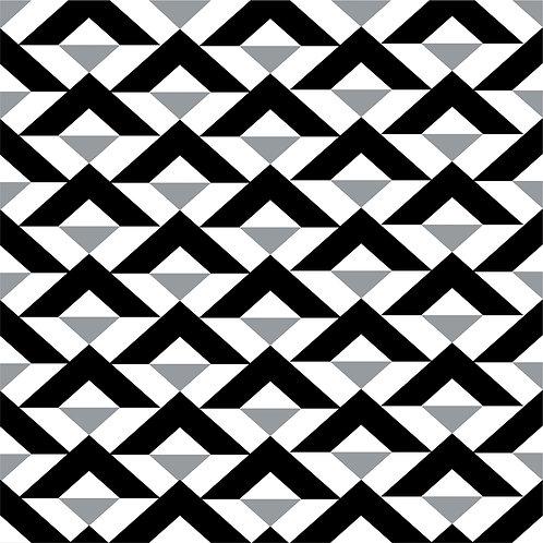 Керамическая плитка Colibri Nero Dec.C2 12,5 × 12,5 см