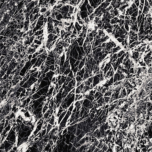 Керамогранит Glam Black Lev/Ret 119,5 × 119,5 см