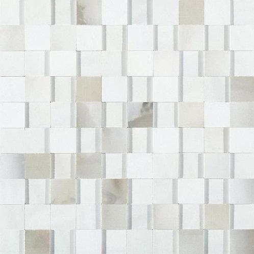 Керамогранит Alabastri Mosaico 3d Smeraldo Glossy 30*30 см
