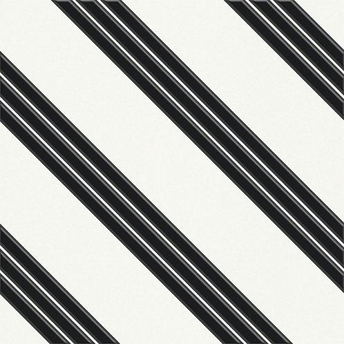 Керамогранит Touch#01 Black On White 20 х 20 см