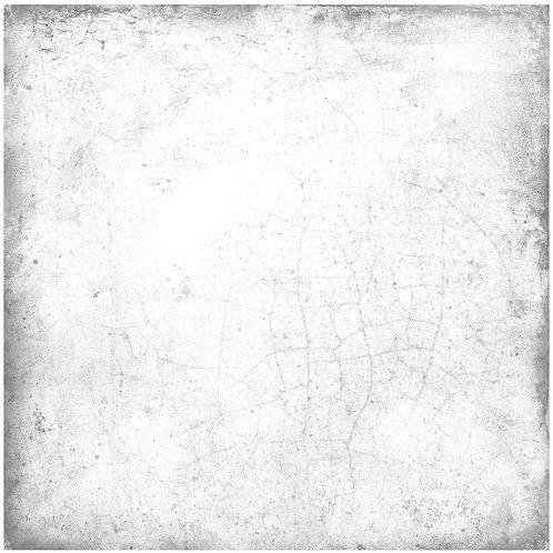 Керамогранит Maiolica plain white for black 20 × 20 см